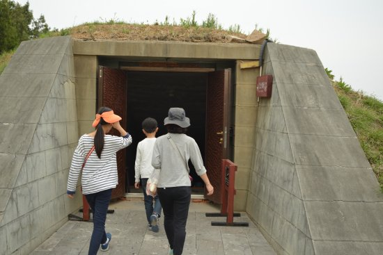 Ji'an Tomb Group : 5号墳の入口。