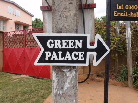 Ivato, Madagascar: Directional signs