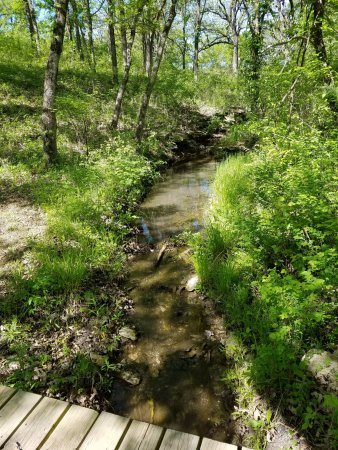 Council Grove, KS: Pioneer Hiking trail.