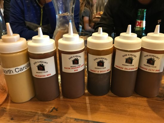 Mukwonago, WI: Selection of BBQ Sauces