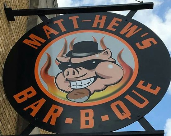 Huntingburg, IN: Matt-Hew's BBQ