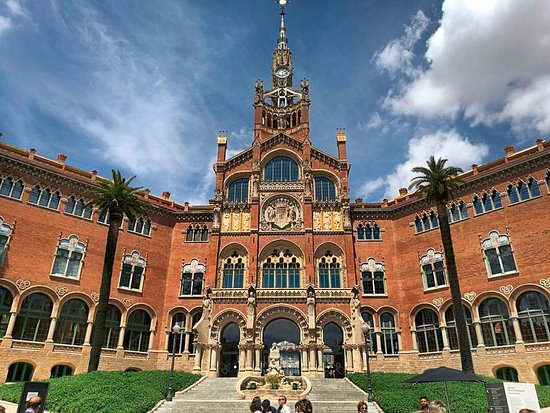 sant pau recinte modernista バルセロナ サンパウ病院の写真