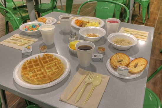 Country Cascades: Grandma's Kitchen featuring free breakfast!
