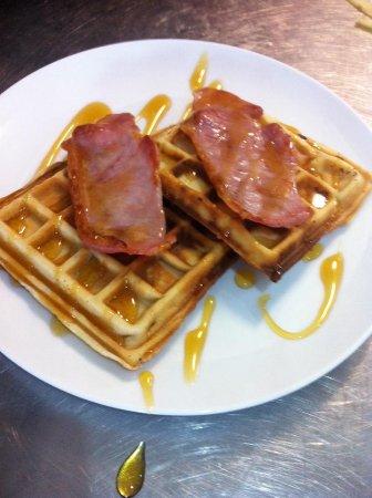Haslingden, UK: New York Waffles