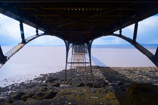 clevedon pier クリーブドン clevedon pier and heritage centreの