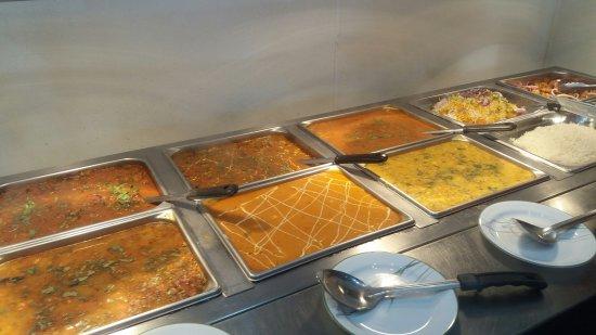 Πεόρια, Ιλινόις: Veg Buffet trays