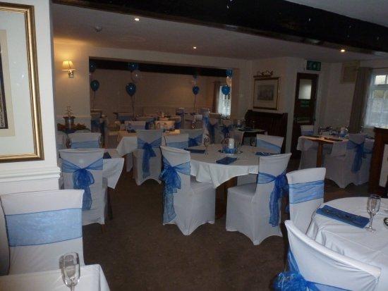 Charlton Kings, UK: Wedding ready