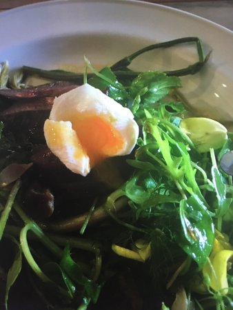 Shillingfords at the Quay: Even the egg was cooked to perfection