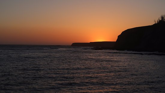 The Wharf Master's Inn: Sunset at Point Arena.