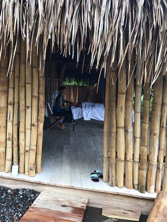 Cambutal, Panama: massage by the beach