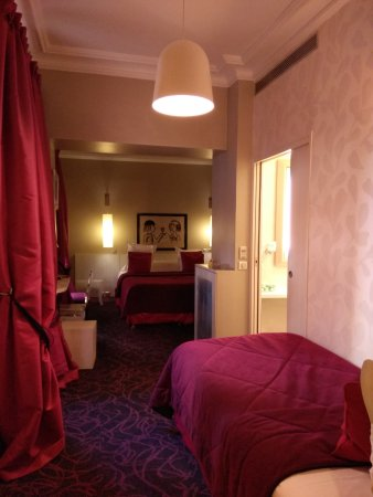 Hotel du Levant: Triple Bedroom - Single bed