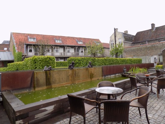 Hotel Montanus : jardin