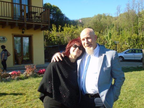 Nebbiuno, إيطاليا: albano & romina !