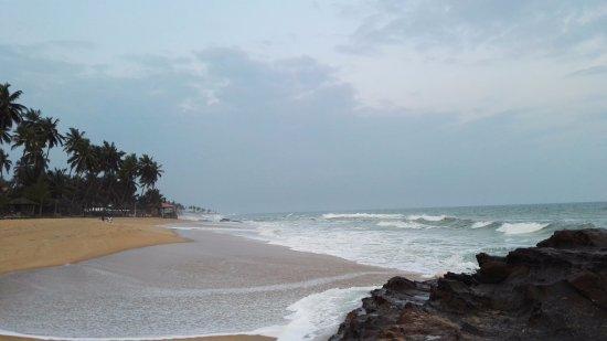 Elmina, Gana: beach