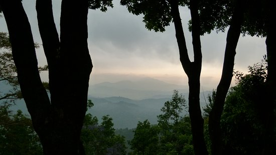 Dhulikhel Mountain Resort Hotel: Blick auf die Berge