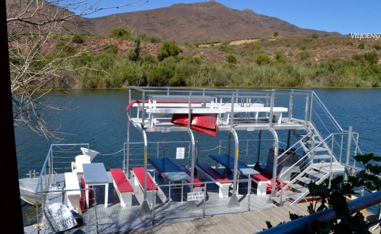 Robertson, South Africa: The boat on the Breede River
