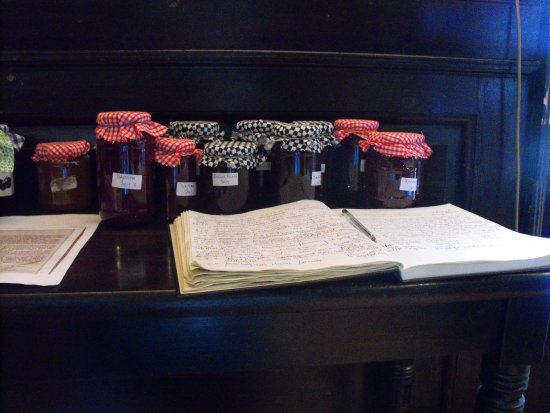 Blandford Forum, UK: Home made jams and marmalades, depending upon the season, all highly recommended.