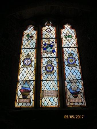 Goodrich, UK: The chapel window