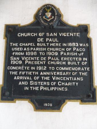 St Vincent de Paul Parish Church