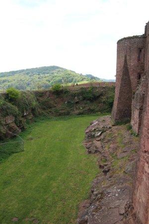 Goodrich, UK: The moat