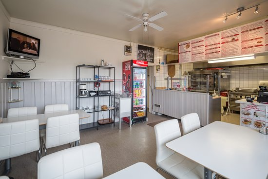 Siljansnas, Suède : Inside Siljans Pizzeria in Siljansnäs