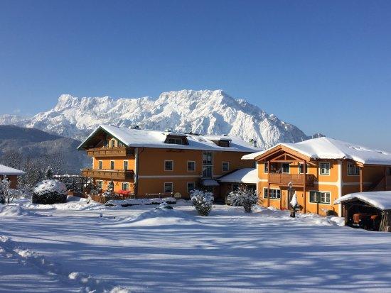 Puch, Austria: Winterwonderland