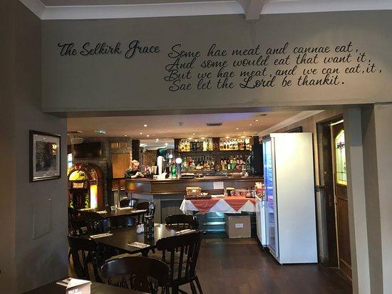 Gretna Green, UK: Inside the restaurant