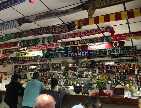 Ferreiras, Portugal: Yes - its a football bar
