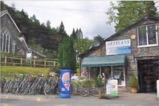 Artisans Bike Hire: Impression of Artisans Coffee Shop & Bike Hire- Credit- PR