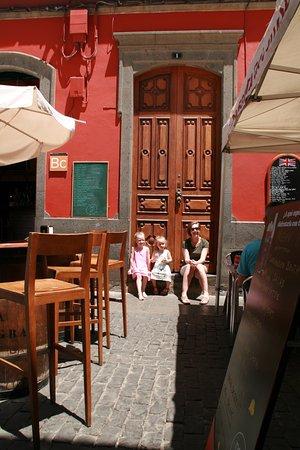 Gáldar, España: even relaxen