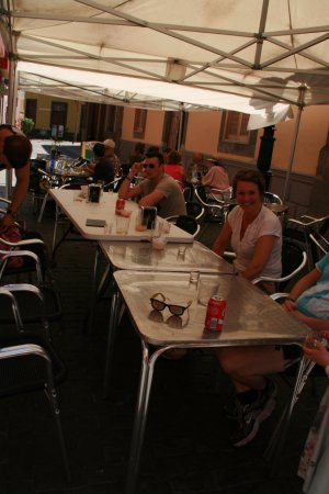Gáldar, España: lekker tafelen