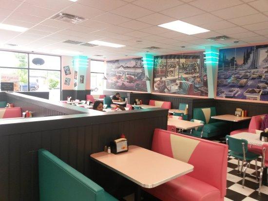 เจฟเฟอร์สันวิลล์, อินเดียน่า: Highway 55 Burgers Shakes & Fries