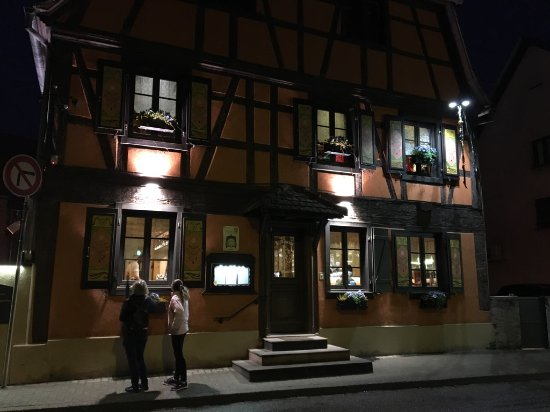 Plobsheim, France: Exterior at departure