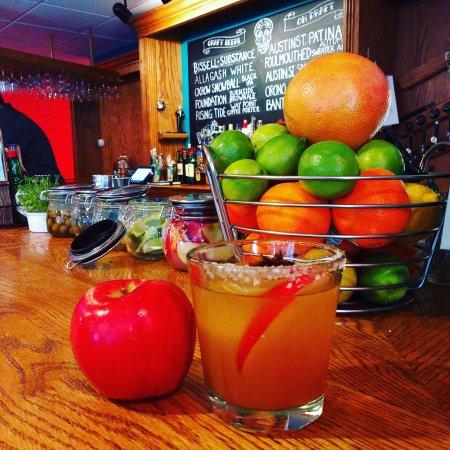 Farmington, ME: Ciderhouse margarita special.