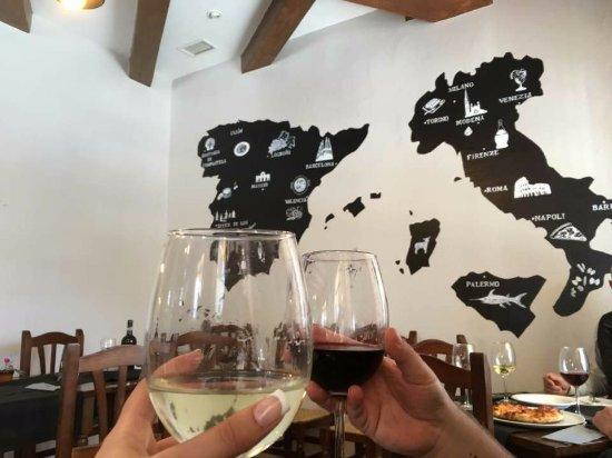 Jerez de los Caballeros, Spanien: El salón, un reflejo de nuestra gastronomía