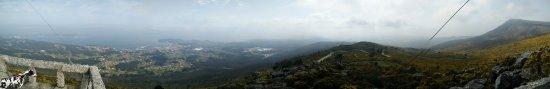 Panorama desde A Curota