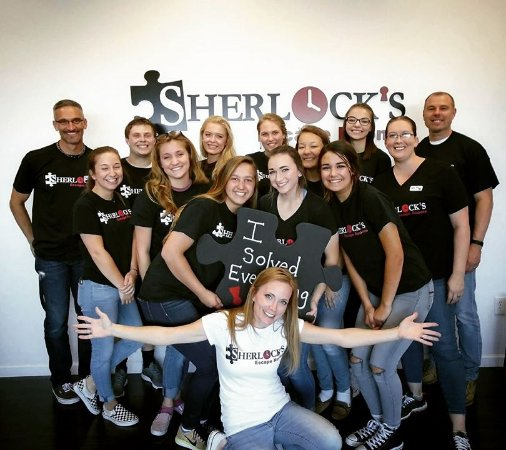 Florence, KY : The Sherlock's Escape Rooms dream team!