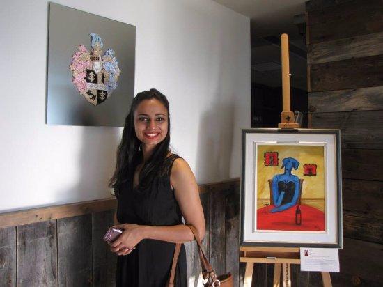 Βέρνον, Καναδάς: Art work all over