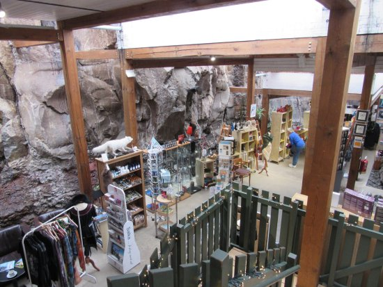 Borgarnes, İzlanda: The gift shop area