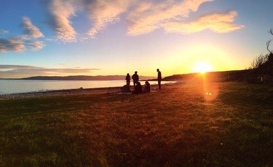 Tighnabruaich, UK: Beach Sunset
