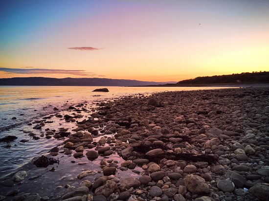 Tighnabruaich, UK: Beach sunset