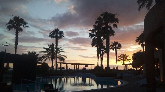 Savoy Calheta Beach: The view you get with the night time entertainment!