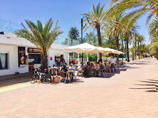 Mar de Cristal, Spain: Cafe Arena
