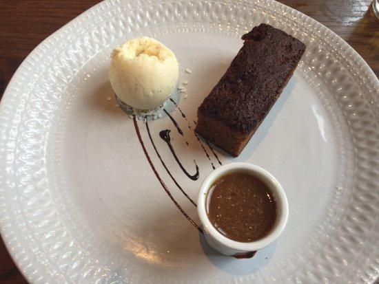 Pontardawe, UK: Sticky toffee pudding.