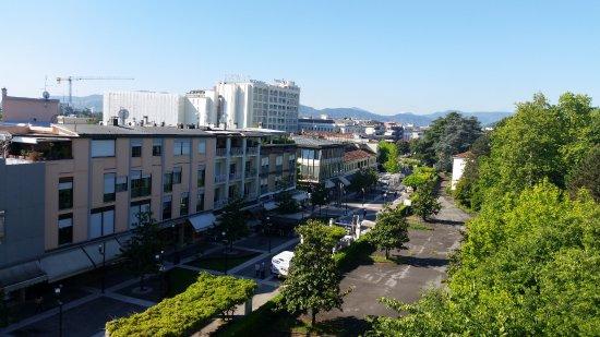 Hotel Terme Villa Pace: Vista dal nostro terrazzo (camera 408)