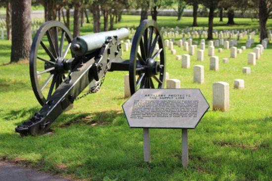 Murfreesboro, Τενεσί: cannon.