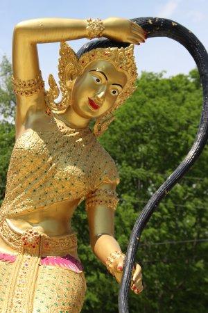 Murfreesboro, TN: Statue in back.