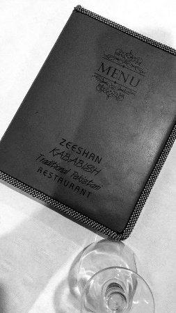 Zeeshan Kebabish: Menu