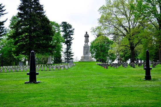 Sharpsburg, Мэриленд: Antietam National Cemetery