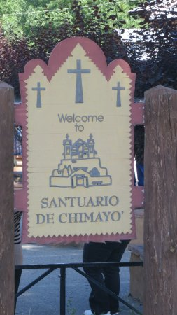 Welcome Santuario de Chimayo